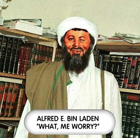 Funny pictures of osama bin laden & Jokes # 2