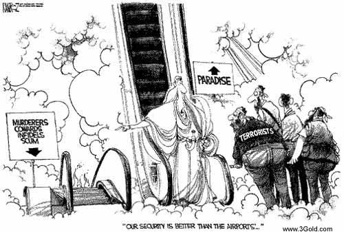 Terrorist comics Funny pictures # 1