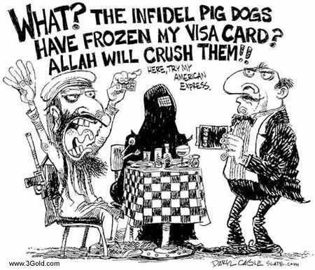 Terrorist comics Funny pictures # 3