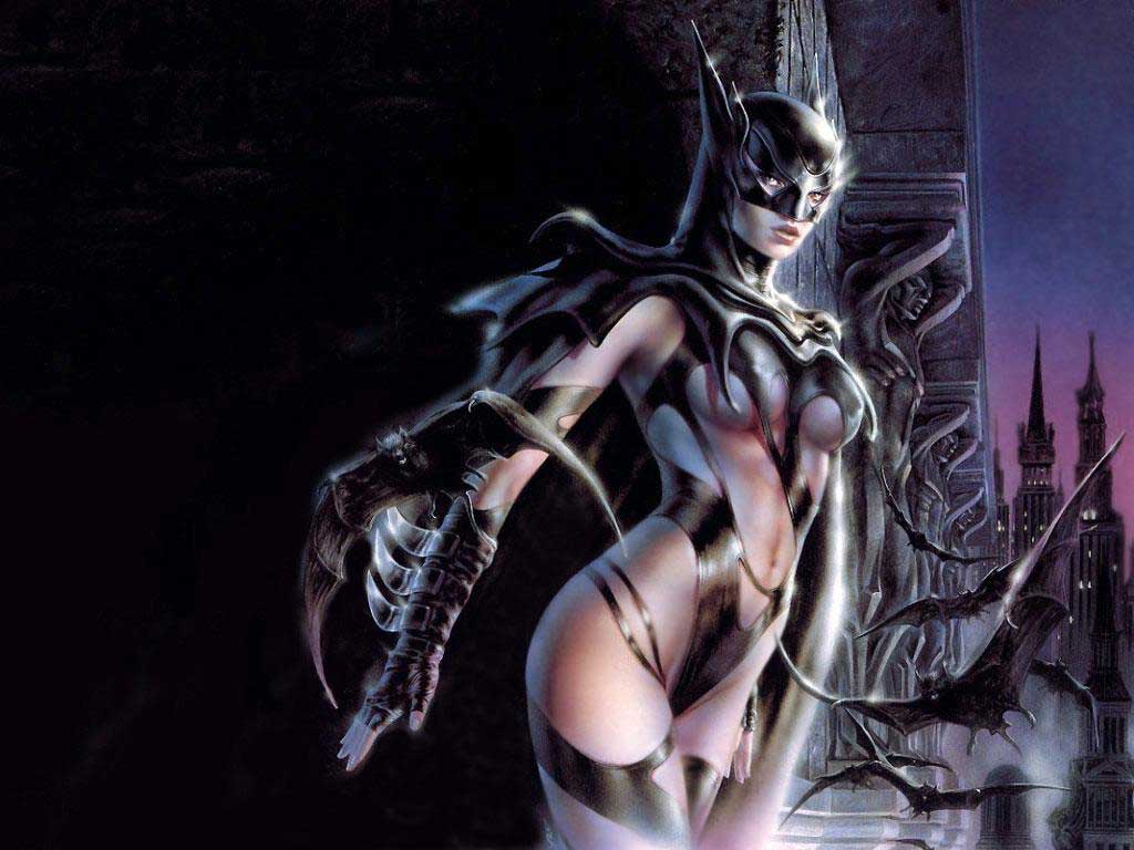 D Fantasy Art Sey Female Superhero