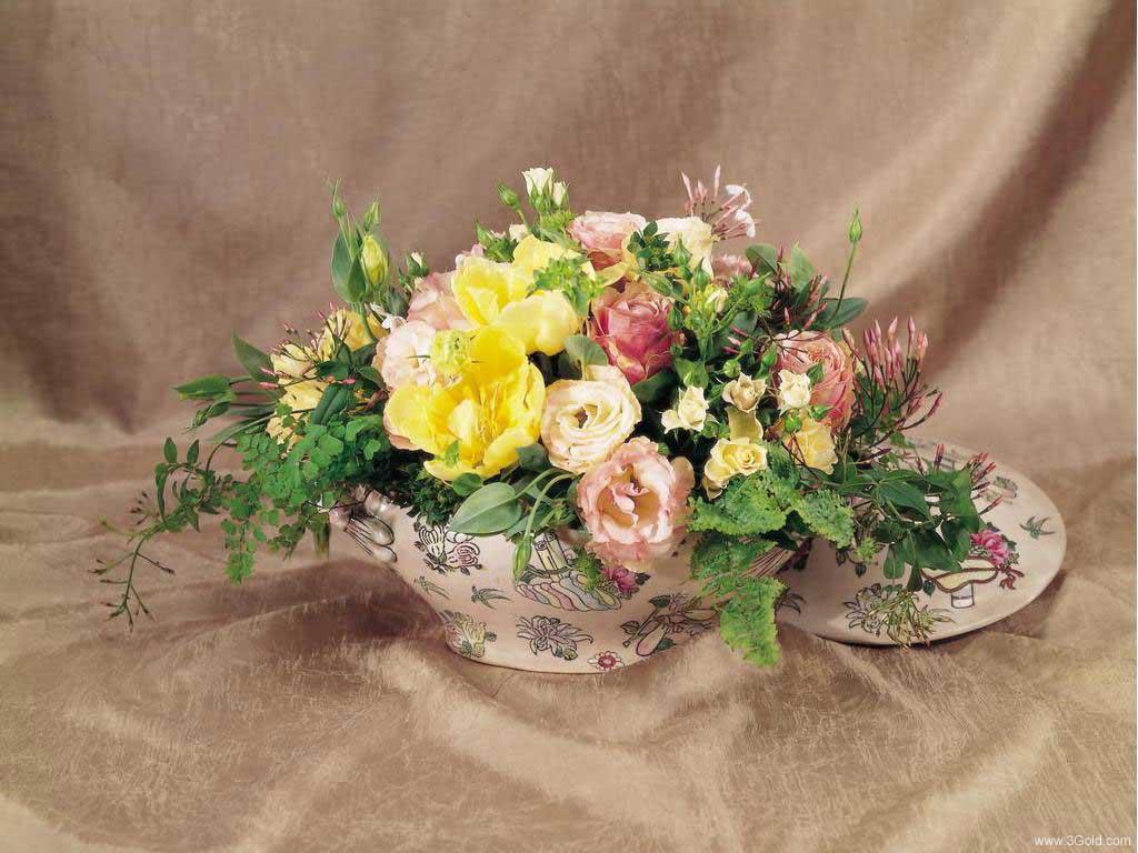Fresh Flowers Desktop Wallpapers virtual pictures online # 17